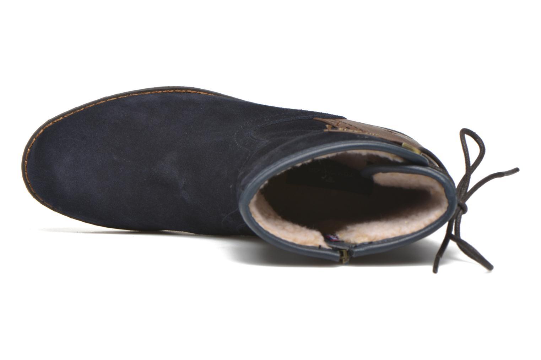 Stiefeletten & Boots Tom Tailor Margaux blau ansicht von links