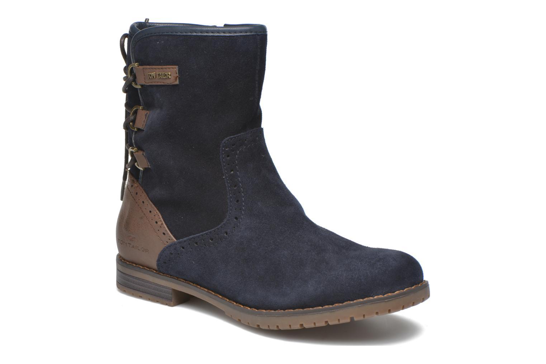 Stiefeletten & Boots Tom Tailor Margaux blau detaillierte ansicht/modell