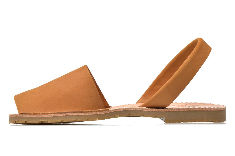 Sandales et nu-pieds Coolway Seilor Marron vue face