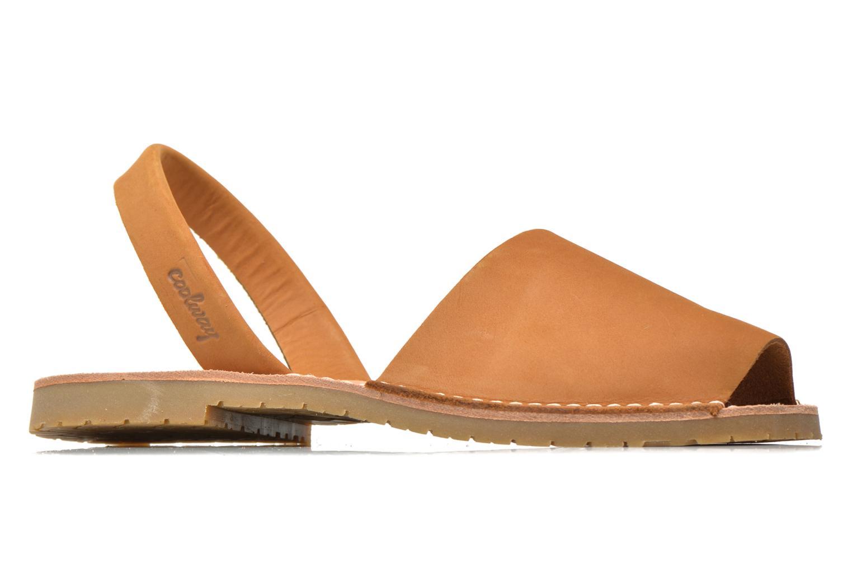Sandales et nu-pieds Coolway Seilor Marron vue derrière