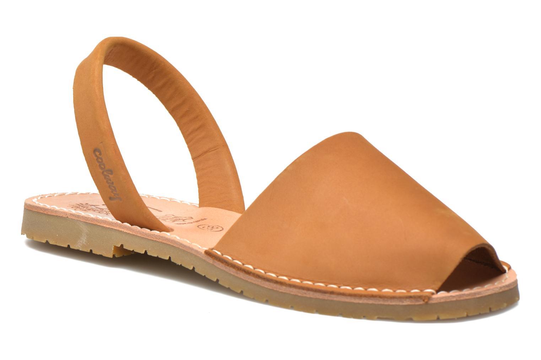 Sandales et nu-pieds Coolway Seilor Marron vue détail/paire