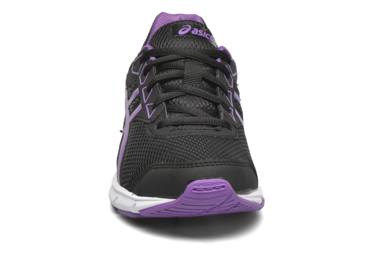 Chaussures de sport Asics Gel-Galaxy 9 GS Noir vue portées chaussures