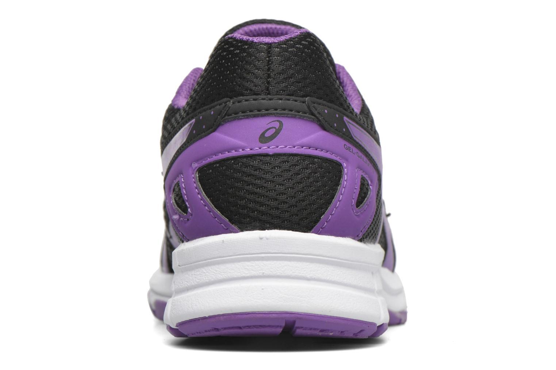 Chaussures de sport Asics Gel-Galaxy 9 GS Noir vue droite