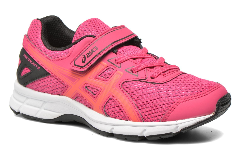 Chaussures de sport Asics Pre Galaxy 9 PS Rose vue détail/paire