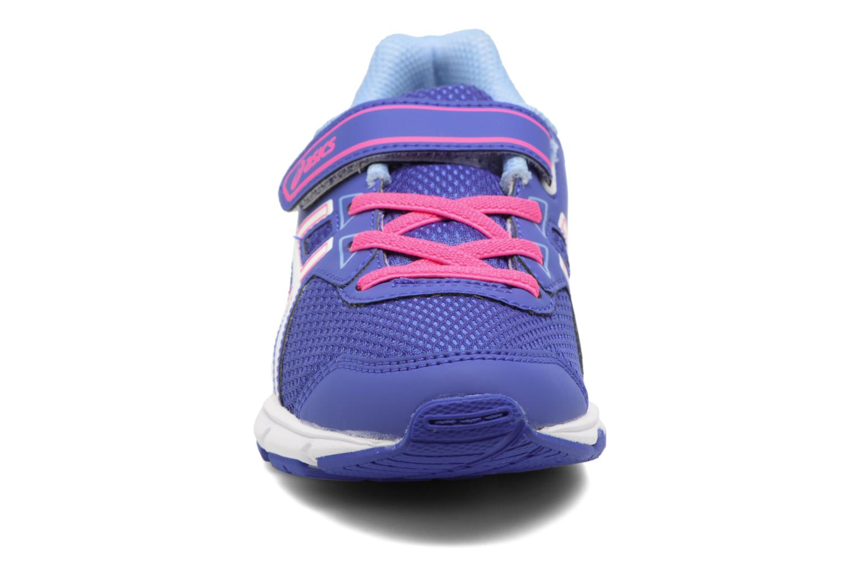 Sportschuhe Asics Pre Galaxy 9 PS lila schuhe getragen