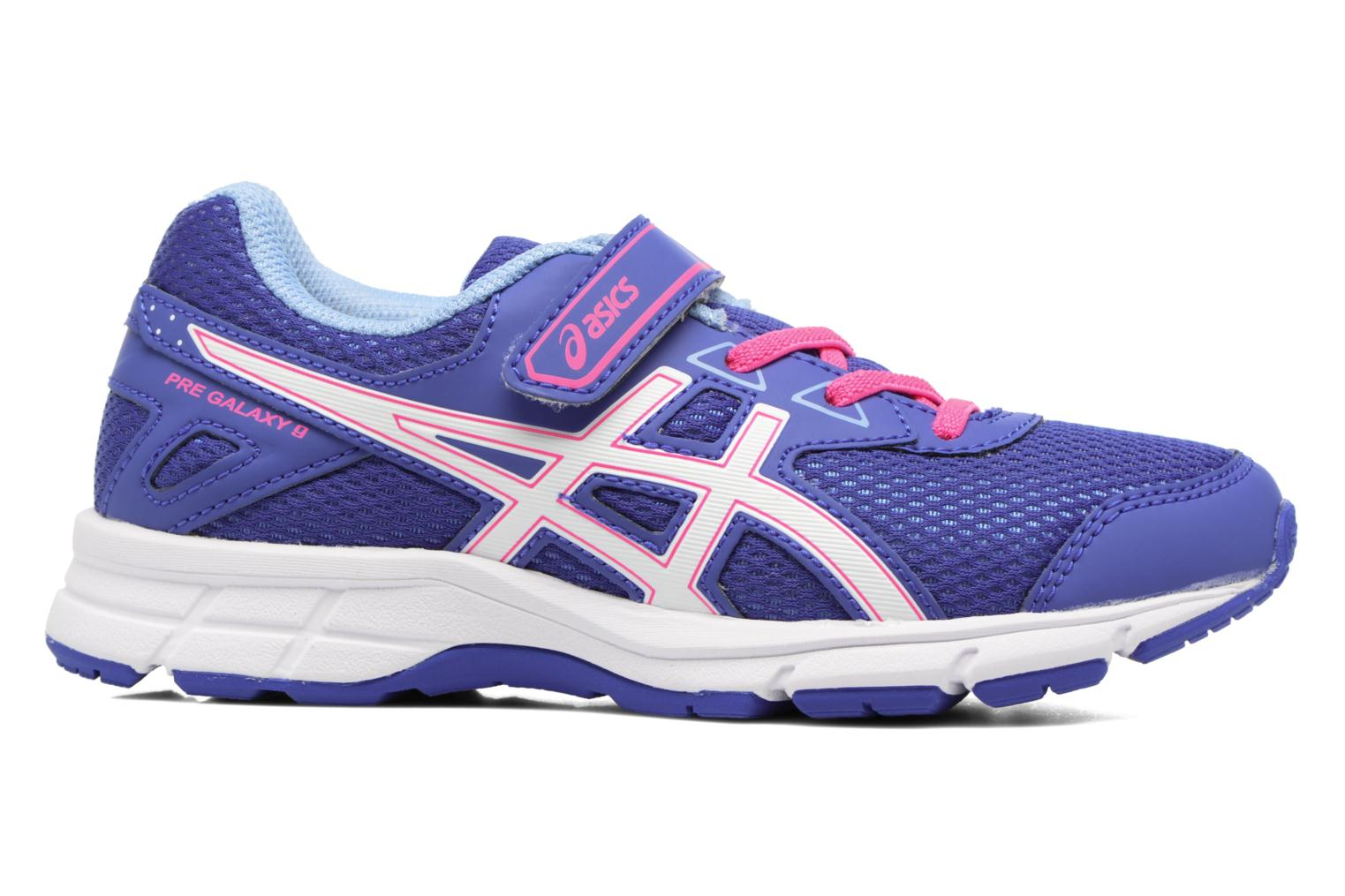 Sport shoes Asics Pre Galaxy 9 PS Purple back view
