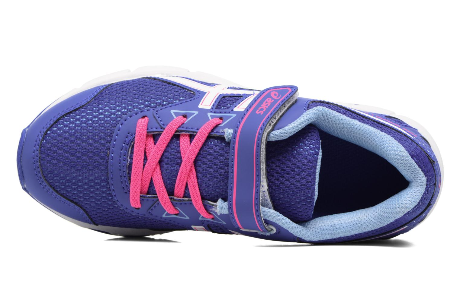Sport shoes Asics Pre Galaxy 9 PS Purple view from the left