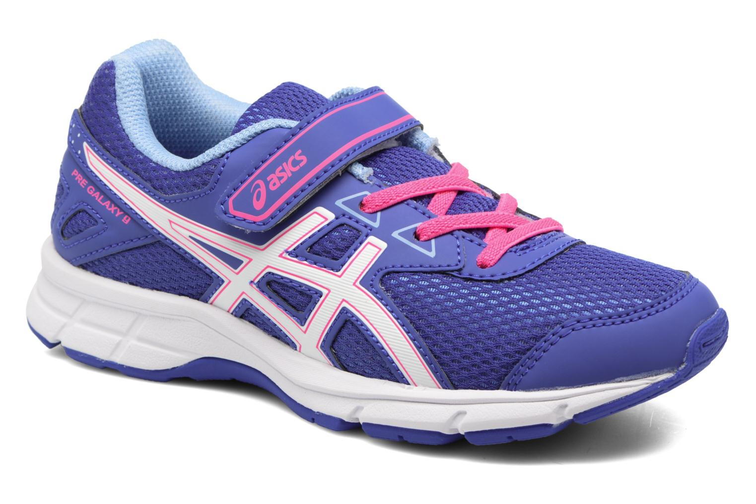 Sport shoes Asics Pre Galaxy 9 PS Purple detailed view/ Pair view