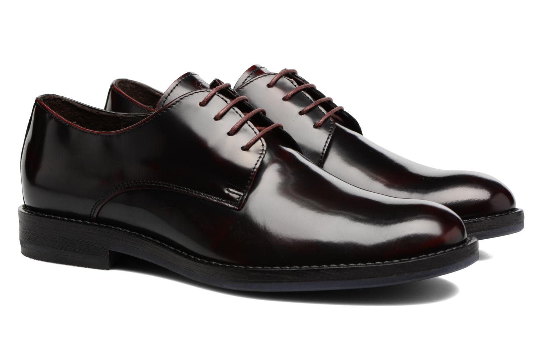Chaussures à lacets Mr SARENZA Nills Bordeaux vue derrière