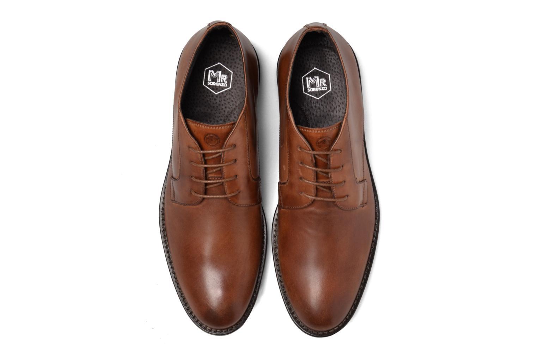 Chaussures à lacets Mr SARENZA Neath Marron vue portées chaussures