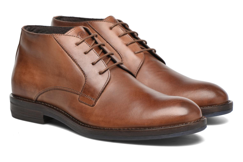 Chaussures à lacets Mr SARENZA Neath Marron vue derrière