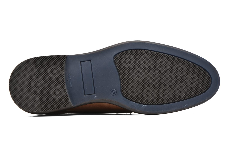Chaussures à lacets Mr SARENZA Neath Marron vue haut