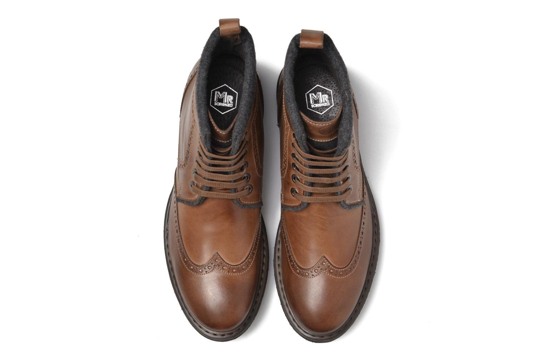 Bottines et boots Mr SARENZA Newyork Marron vue portées chaussures