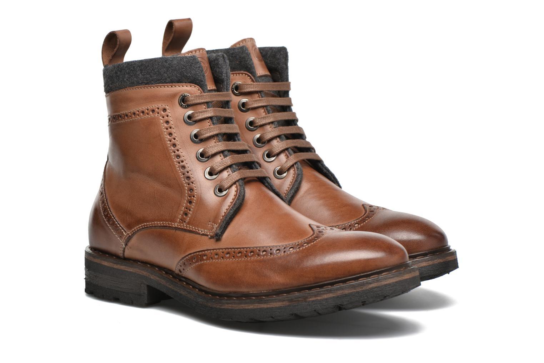Bottines et boots Mr SARENZA Newyork Marron vue derrière