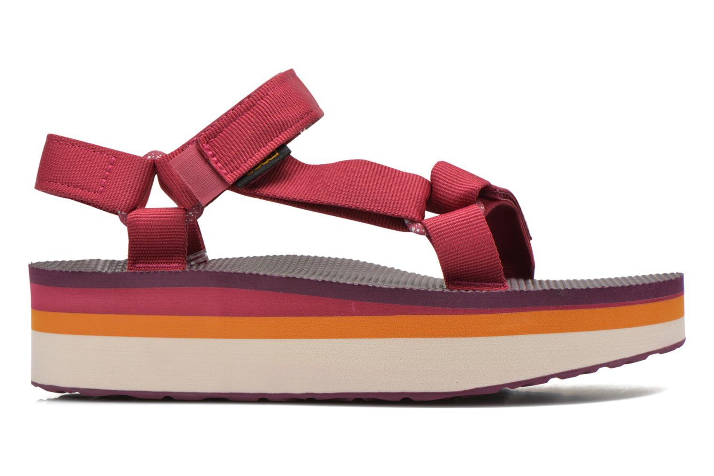 Sandales et nu-pieds Teva Flatform Universal Retro Rose vue derrière