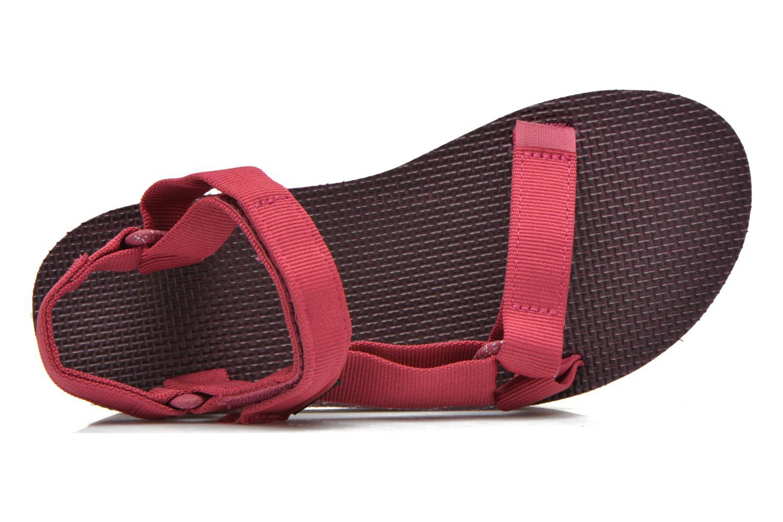 Sandales et nu-pieds Teva Flatform Universal Retro Rose vue gauche