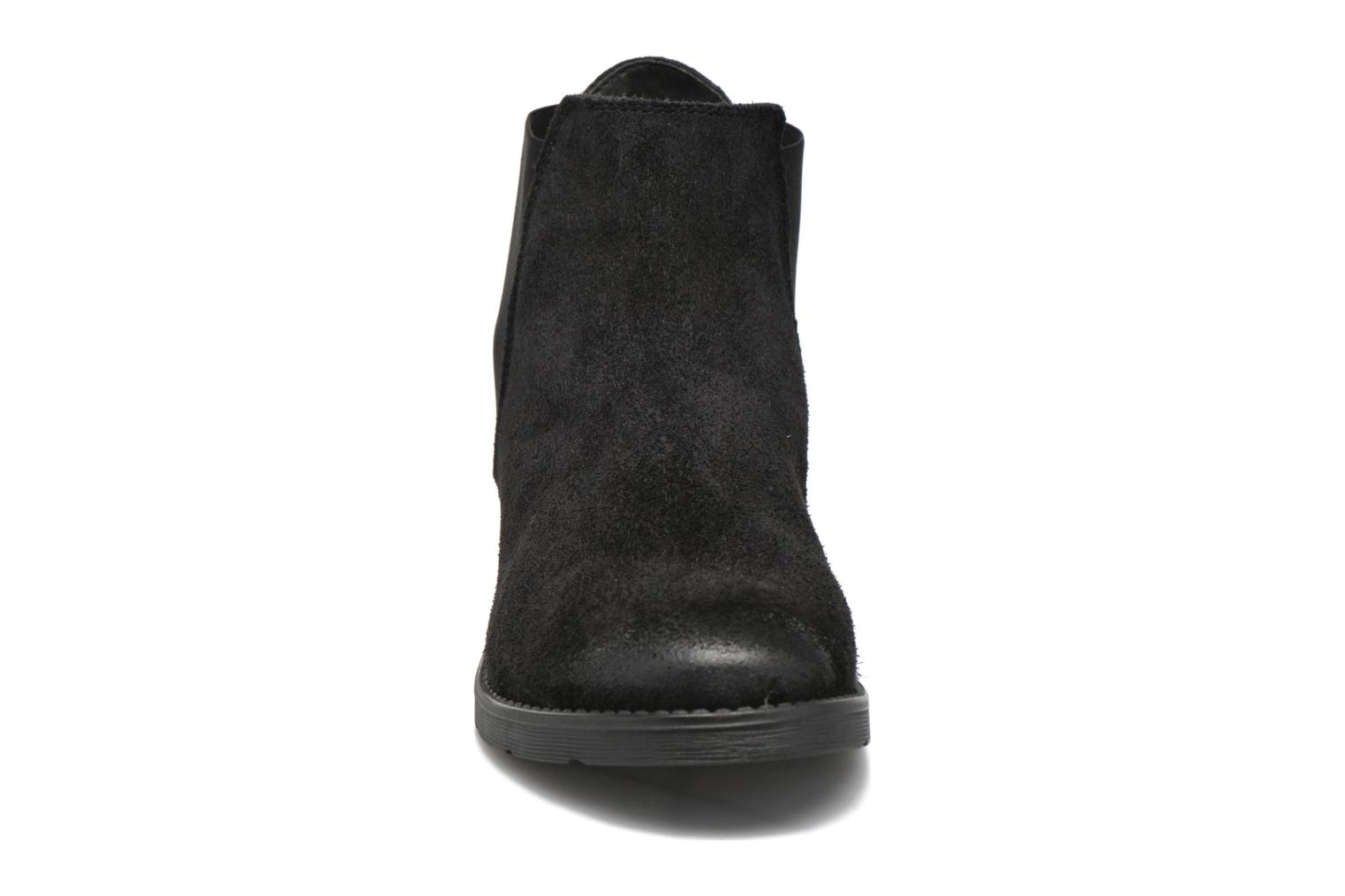 Ankle boots Vero Moda Sofie Leather Boot Black model view