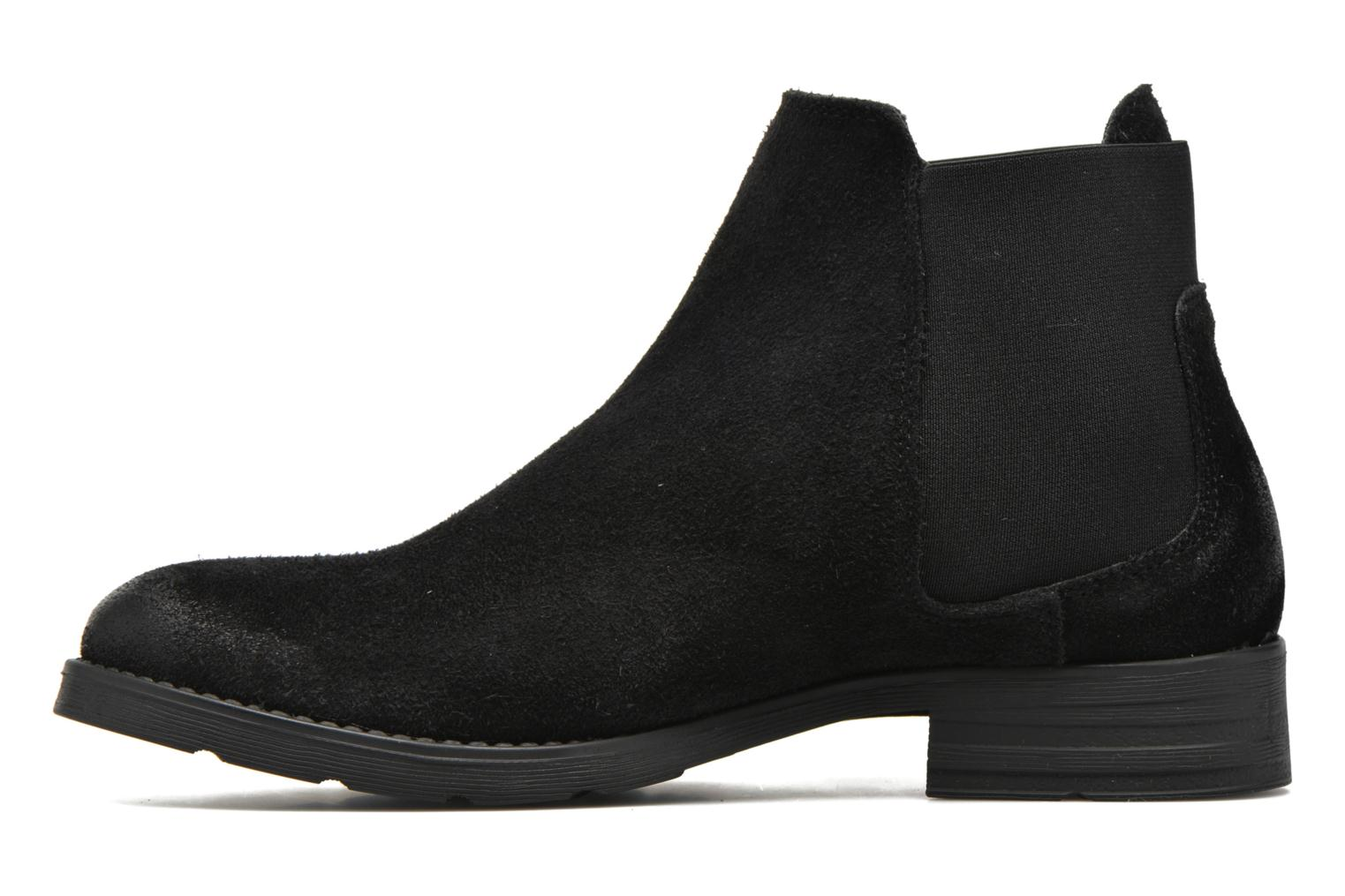 Ankle boots Vero Moda Sofie Leather Boot Black front view