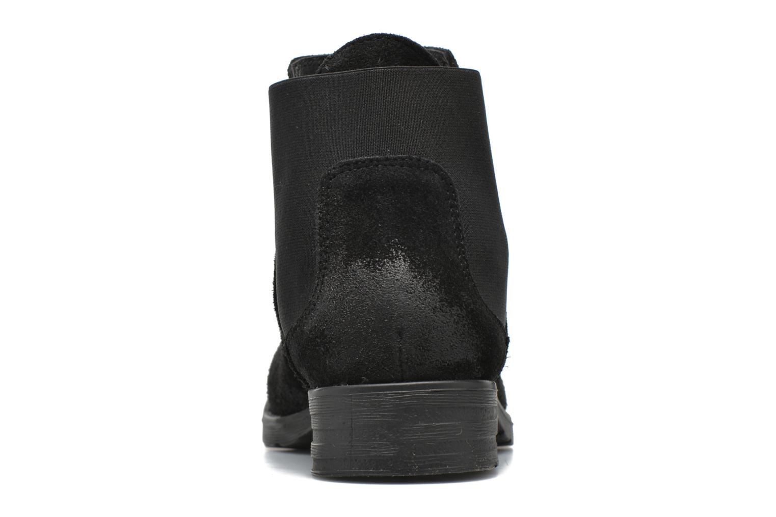 Ankle boots Vero Moda Sofie Leather Boot Black view from the right