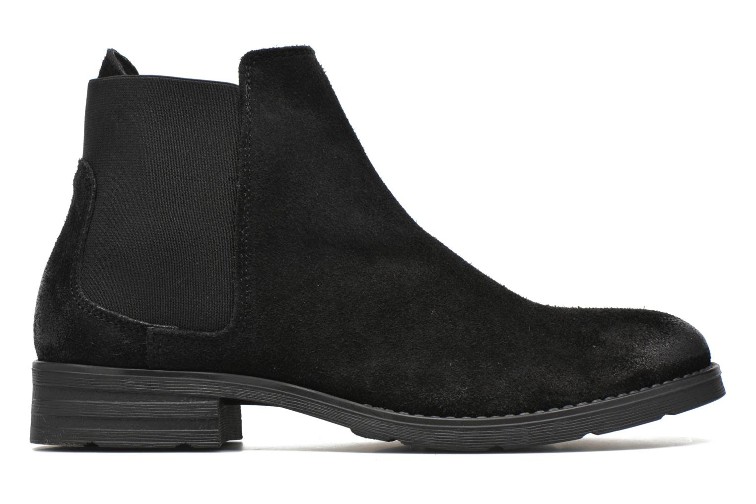 Ankle boots Vero Moda Sofie Leather Boot Black back view