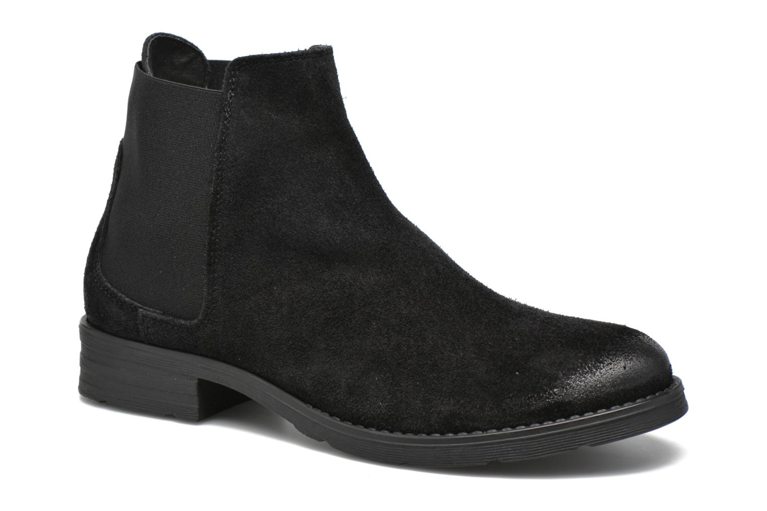 Ankle boots Vero Moda Sofie Leather Boot Black detailed view/ Pair view
