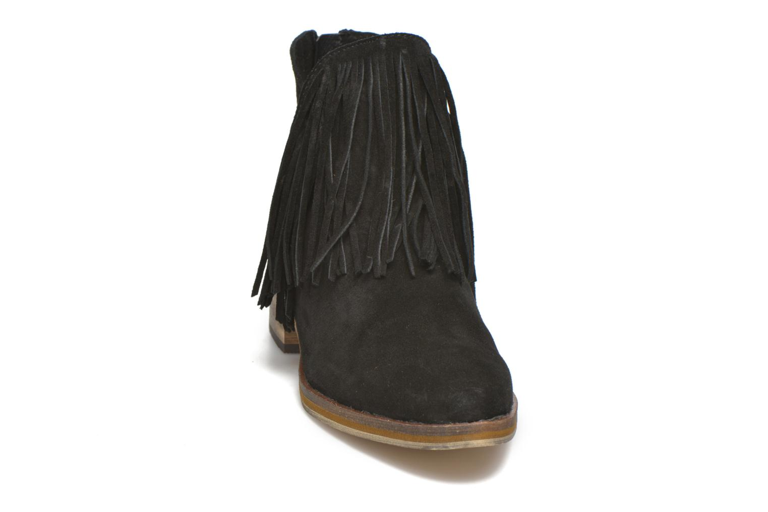Botines  Vero Moda Laure Leather Boot Negro vista del modelo