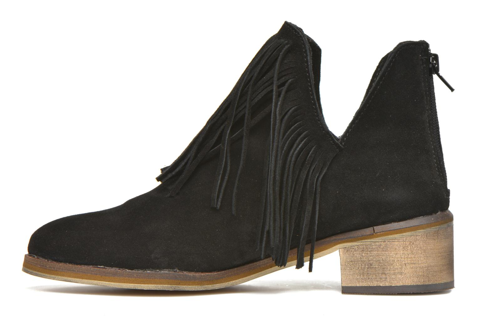 Laure Leather Boot Black