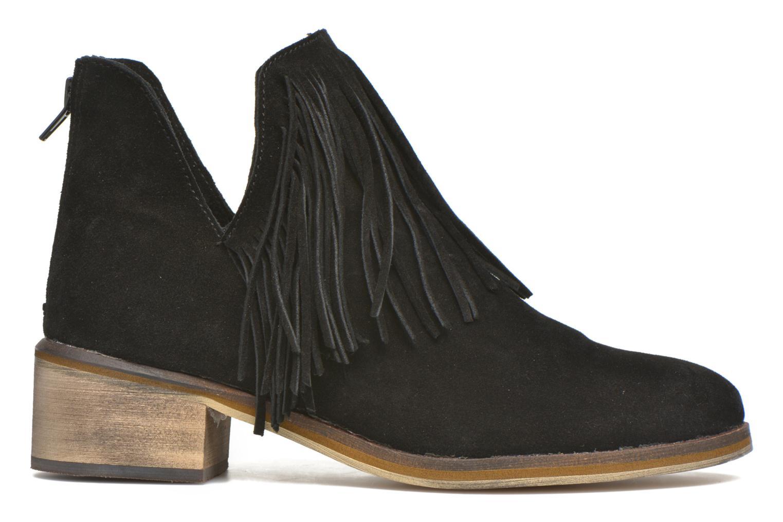 Bottines et boots Vero Moda Laure Leather Boot Noir vue derrière