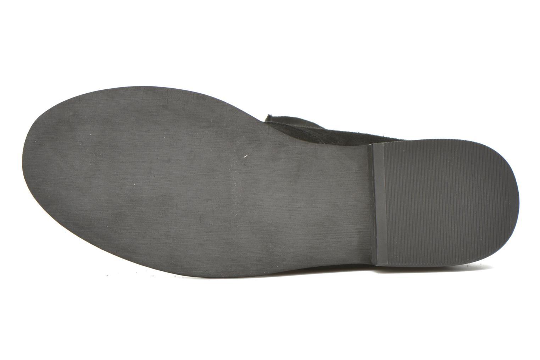 Bottines et boots Vero Moda Vera Noir vue haut