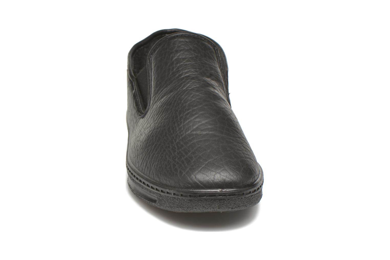 Chaussons Rondinaud Jaseron Noir vue portées chaussures