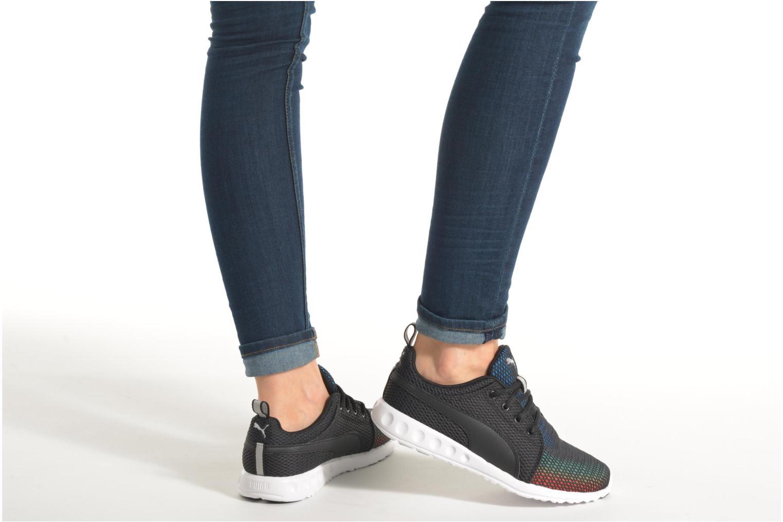 Chaussures de sport Puma Wns Carson Noir vue bas / vue portée sac