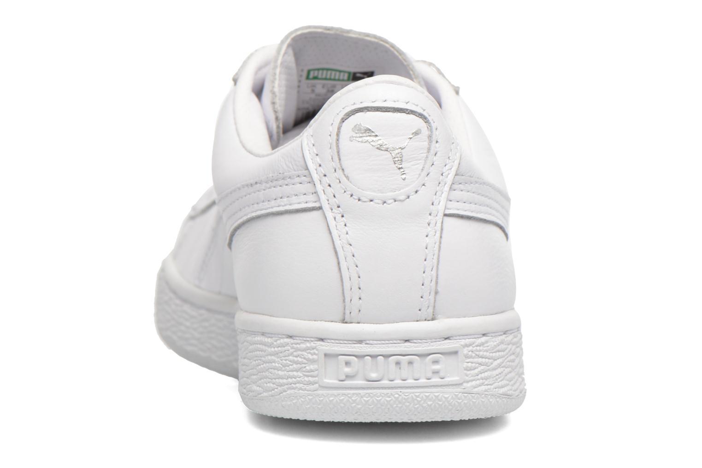 Baskets Puma Basket Classic Lfs W Blanc vue droite