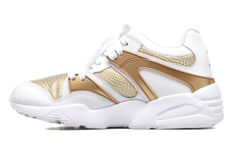 Sneaker Puma Wnbs Blaze weiß ansicht von vorne