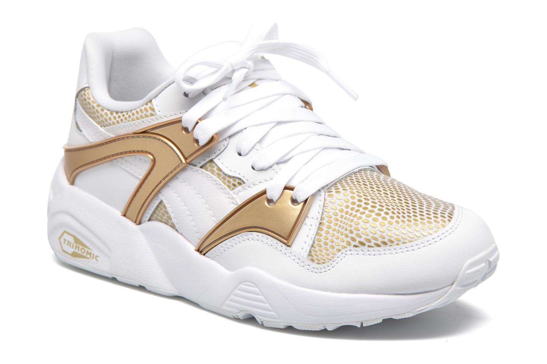 Sneaker Puma Wnbs Blaze weiß detaillierte ansicht/modell