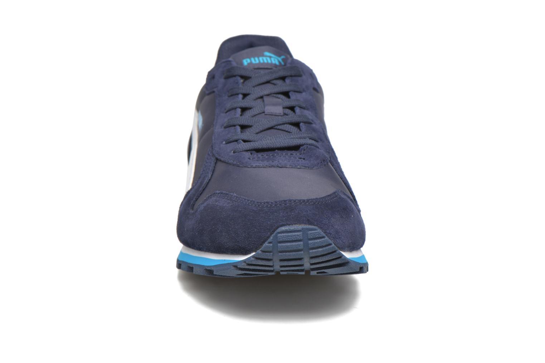 Baskets Puma ST Runner NL Bleu vue portées chaussures