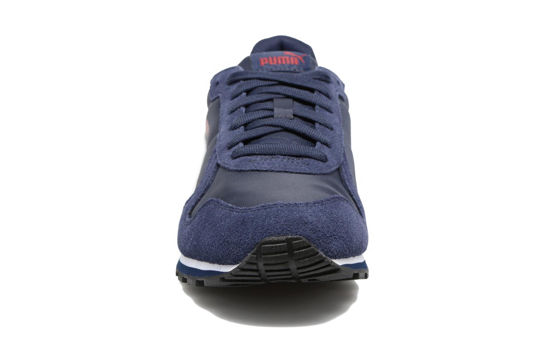 Baskets Puma ST Runner NL Vert vue portées chaussures