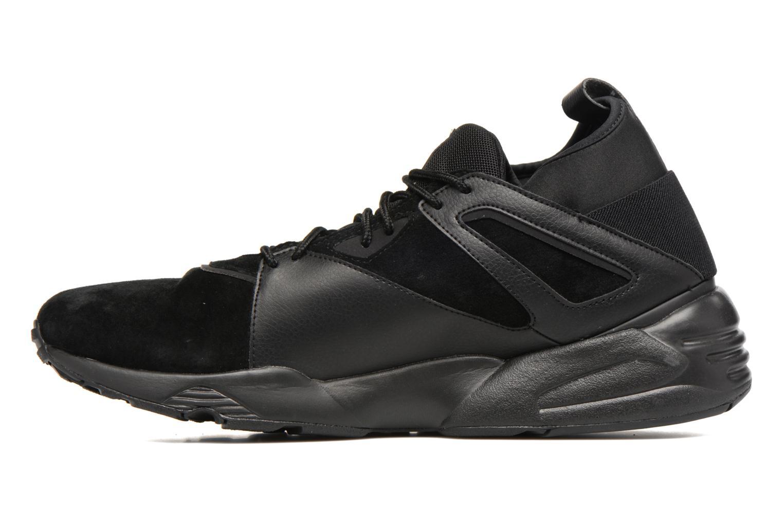 Trainers Puma Trinomic Blaze Of Glory Sock Core Black front view