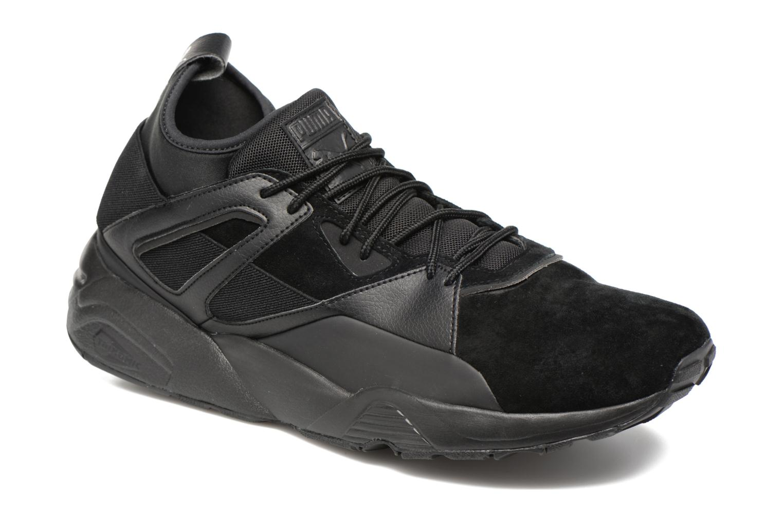 Trainers Puma Trinomic Blaze Of Glory Sock Core Black detailed view/ Pair view