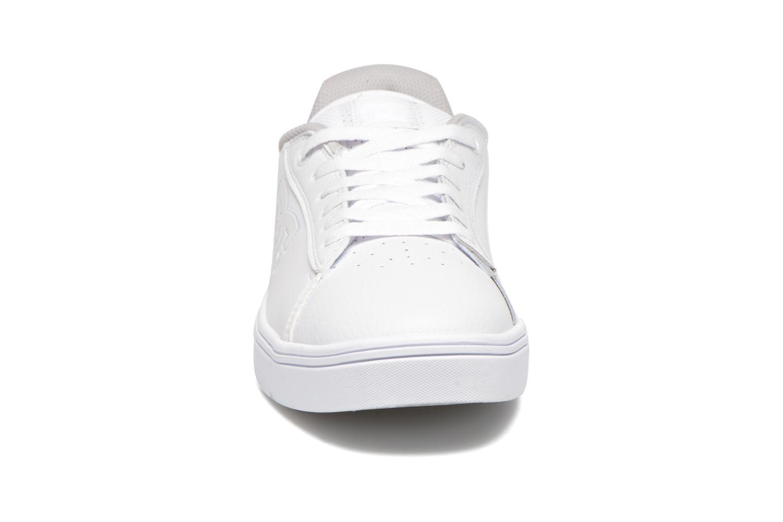 Chaussures à lacets DC Shoes Notch Blanc vue portées chaussures