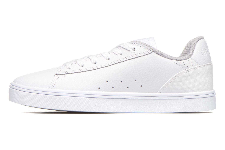 Chaussures à lacets DC Shoes Notch Blanc vue face