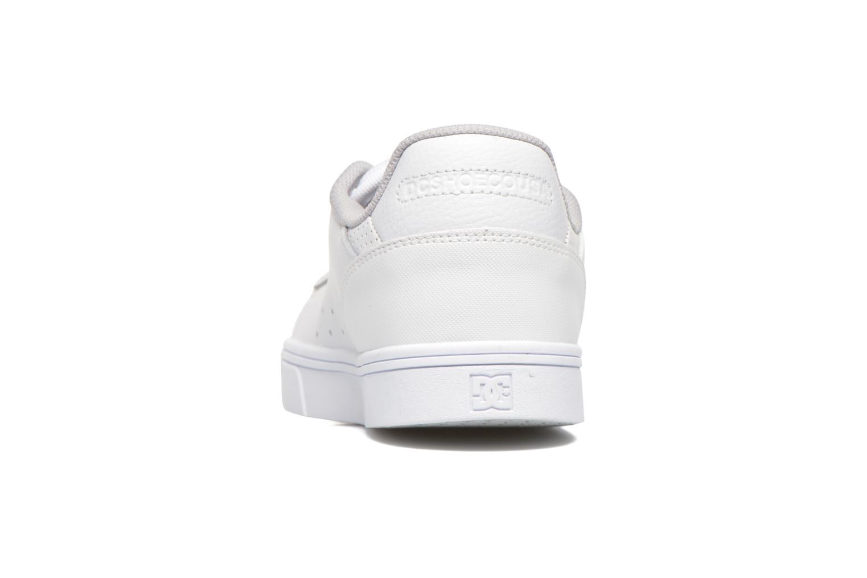 Chaussures à lacets DC Shoes Notch Blanc vue droite