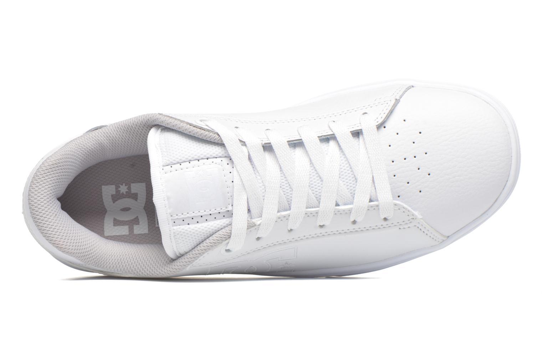 Chaussures à lacets DC Shoes Notch Blanc vue gauche