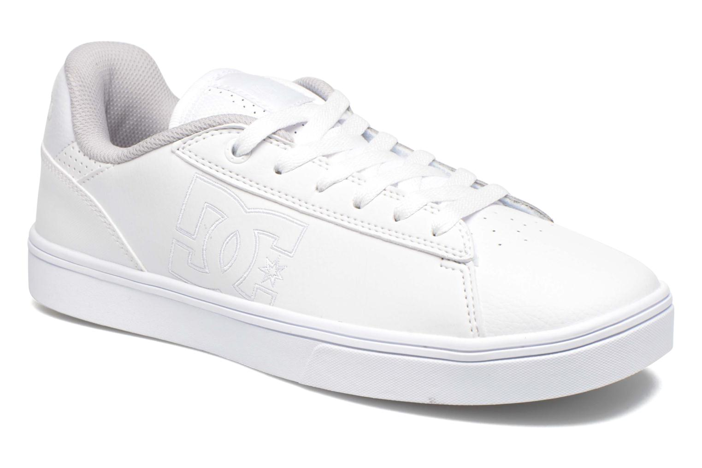 Chaussures à lacets DC Shoes Notch Blanc vue détail/paire