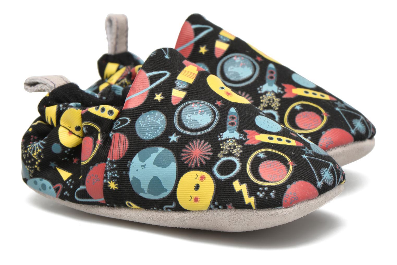 Chaussons Poco Nido Space Noir vue portées chaussures
