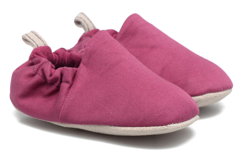 Chaussons Poco Nido Plain Violet vue portées chaussures