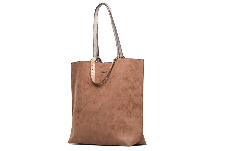Sacs à main Tamaris AMBER Shopping bag Marron vue portées chaussures