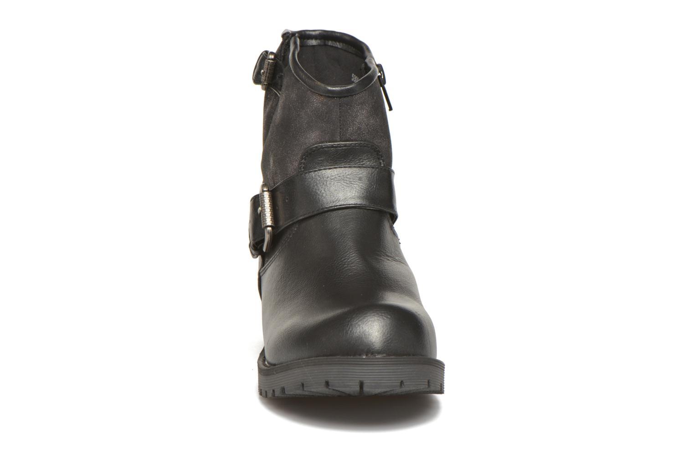 Bottines et boots Kaporal Nael Noir vue portées chaussures