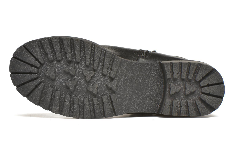 Bottines et boots Kaporal Nael Noir vue haut