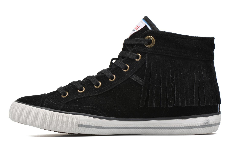 Sneaker Kaporal Icarly schwarz ansicht von vorne