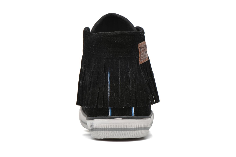 Sneaker Kaporal Icarly schwarz ansicht von rechts